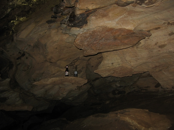 The main chamber in P. Lake Cave.